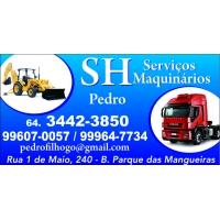 SH SERVIÇOS MAQUINÁRIOS RETRO ESCAVADEIRA